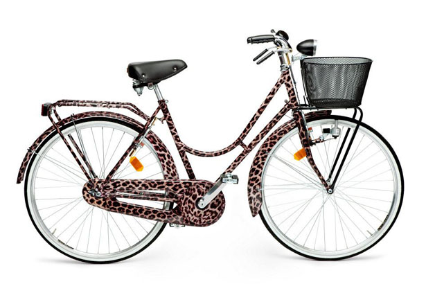 Dolce & Gabbana unveils 24K Gold-Gilded Leopard Print Bicycle