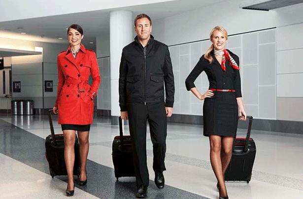 Virgin America Debuts New Banana Republic–designed Uniforms