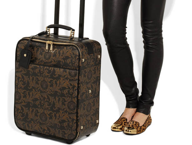 Versace Unveils New Luxury Suitcase