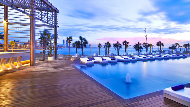 W Hotels Barcelona Swimming Pool Macaron Magazine