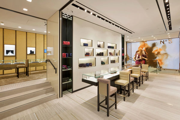 Chanel Sydney Flagship Boutique Reopens The Little