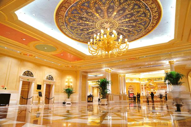 Destination guide macau venetian hotel macaron magazine for Most expensive hotel in macau