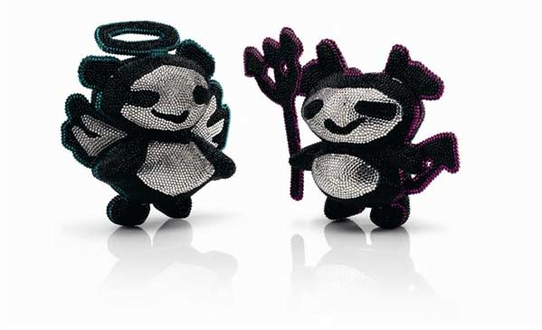 Naughty or Nice? Jimmy Choo Introduces Limited-Edition Devil and Angel Clutches
