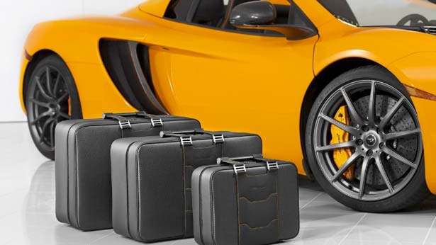 The Need for Speed; McLaren Introduces Bespoke Luggage Collection, Accessory Line