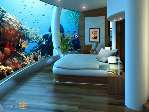 Under the Sea in Fiji; Design Approved for Underwater Hotel