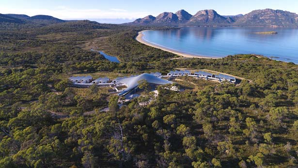 Relax in Nature, Indulge at Tasmania's Saffire Freycinet