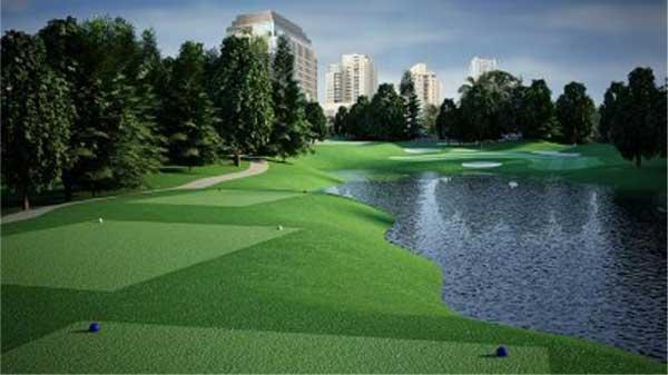 Senayan National Golf Club – Jakarta, Indonesia