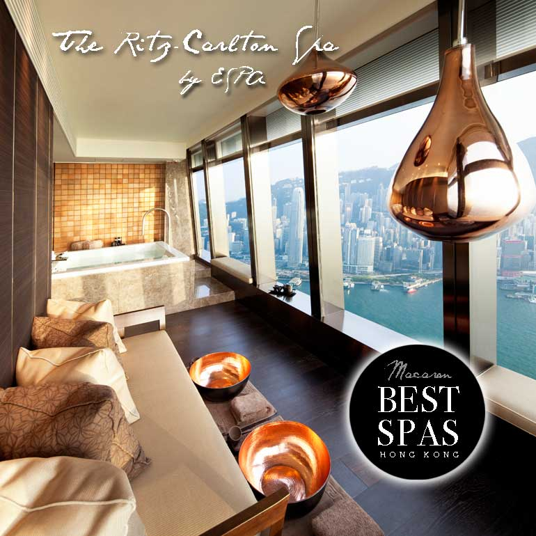 Hong kong s best spas the ritz carlton hong kong spa by for Best hair salon hong kong
