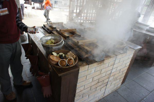 Jigoku Mushi Kobo, Kannawa, Kyushu (Steamed Dish Kitchen)