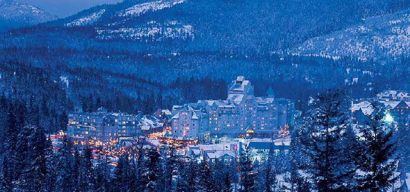 North America's Top 5 Ski Resorts Whistler Blackcomb, British Columbia