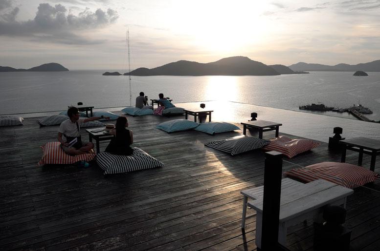 Best Sunset Views in Phuket Baba Nest Sri panwa