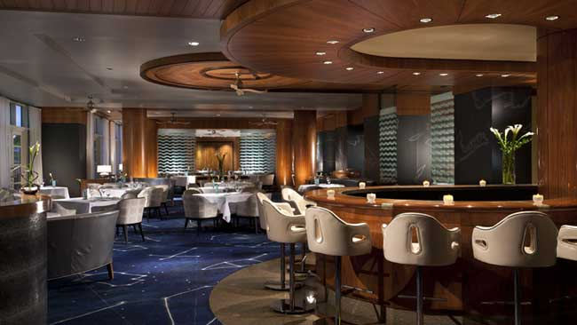 Seafood Delights at Blue by Eric Ripert at The Ritz-Carlton Grand Cayman