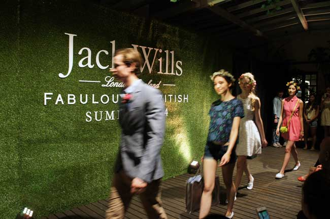 Gallery: Jack Wills Secret Garden Party in Hong Kong; Summer Collection 2014