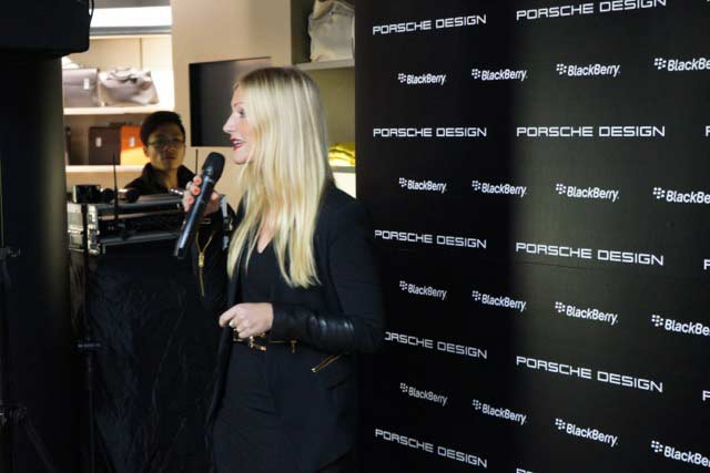 Gallery: Porsche Design P'9983 Graphite Smartphone Launch