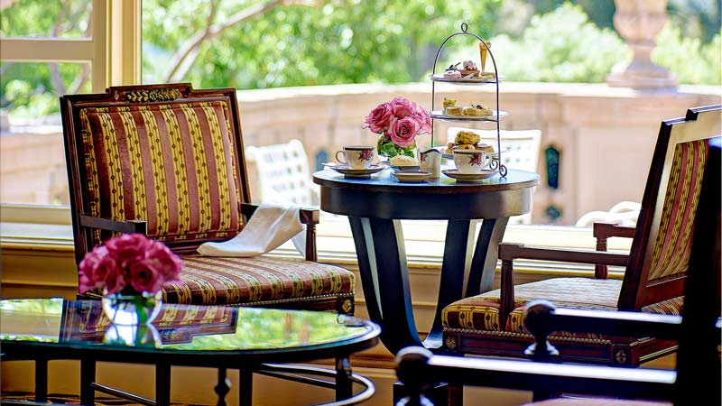 Afternoon Tea With Wedgwood at The Langham Huntington, Pasadena