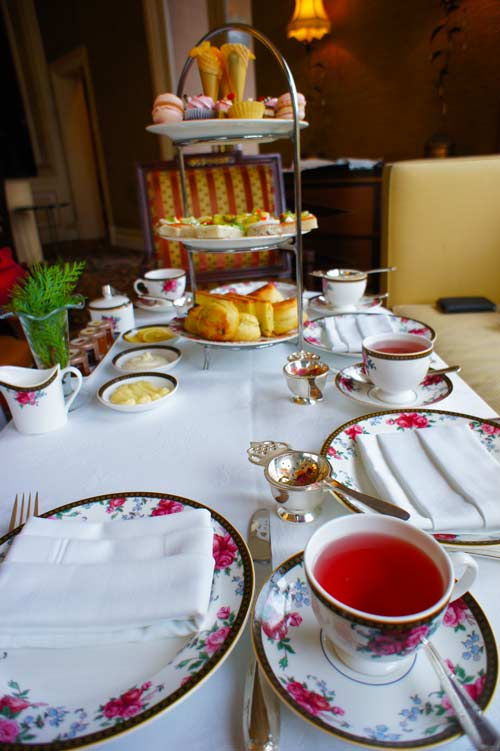 Afternoon Tea With Wedgwood at The Langham Huntington Pasadena