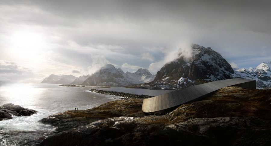Lofoten Opera Hotel, a uniquely beautiful hotel opens in Norway in December