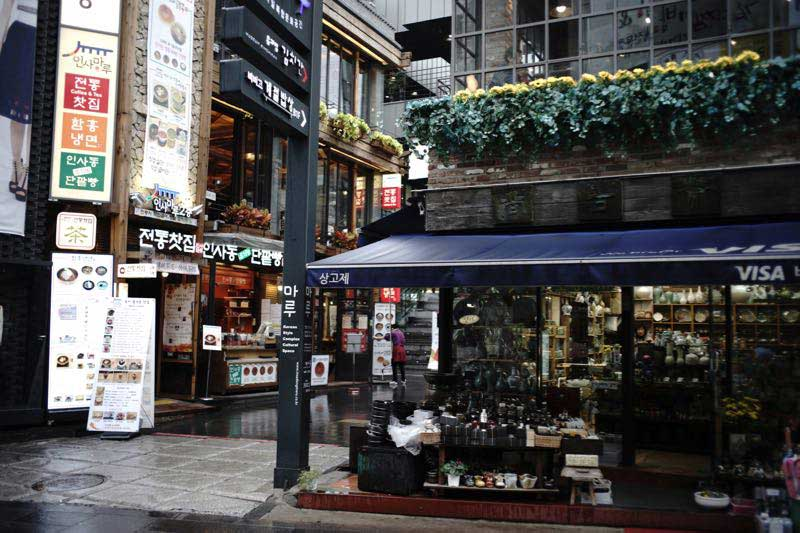 Gallery--Insadong Art and Antique District in Seoul