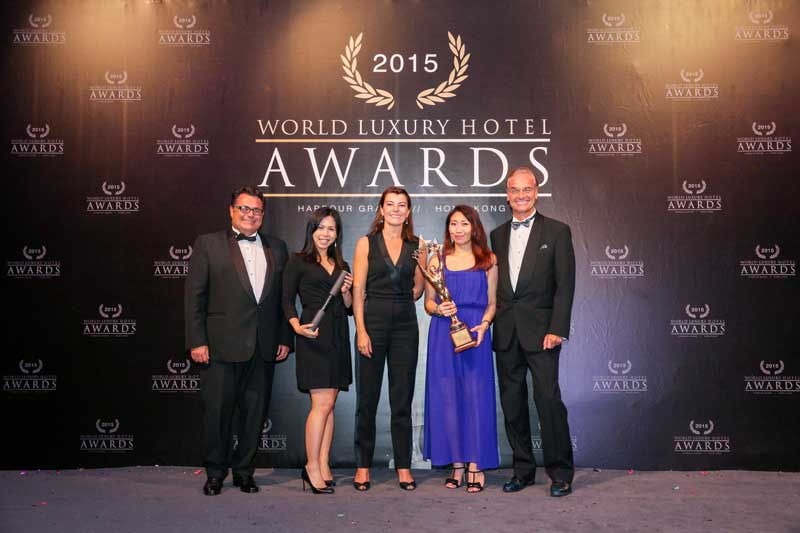 The 2015 World Luxury Hotel Awards Annual Gala Event | The Harbour Grand Hong Kong