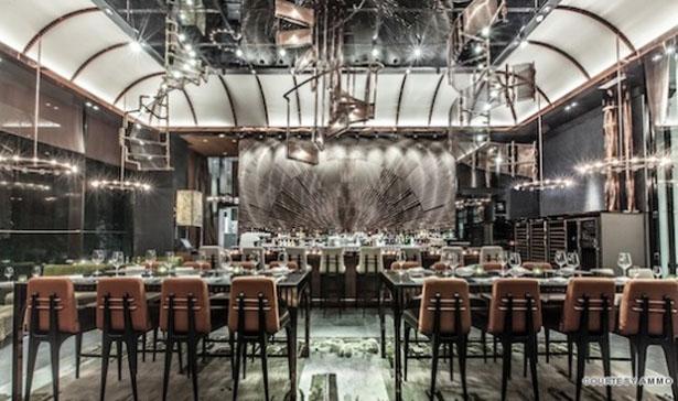 AMMO Restaurant Opens in Hong Kong