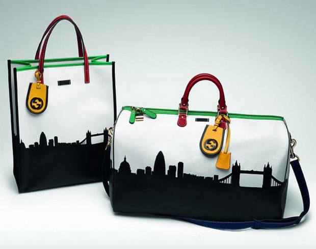 "Gucci launches ""City Series"" Collection to celebrate London Olympics"