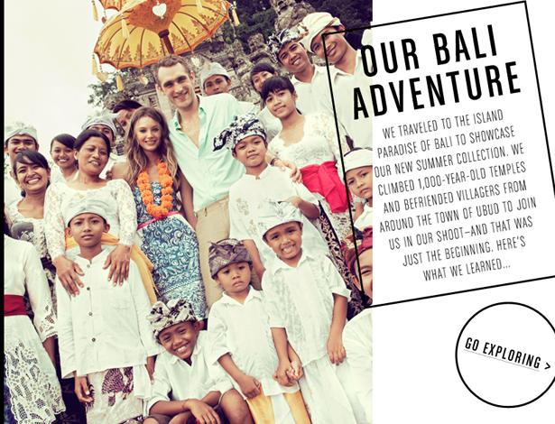 """J.Crew Launches """"Bali Adventure"""" Campaign"""