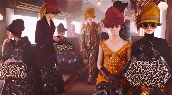 Louis Vuitton Launches Autumn-Winter 2012 (AW12) Campaign
