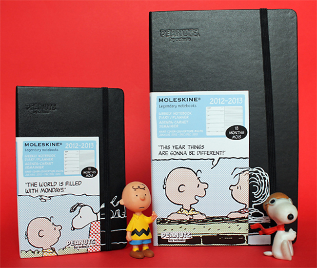 "Moleskine Launches ""Peanuts"" 18-Month Weekly Planner"