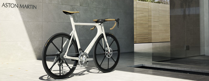 Aston Martin Debuts One-77 Ultra High-End Bicycle