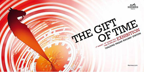 """Hermès Presents """"The Gift of Time"""" Exhibition in Singapore"""