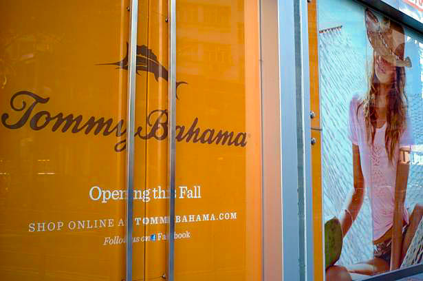 Tommy Bahama to Open First Hong Kong Store