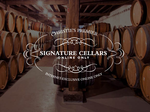 Christie's Launches Signature Cellars Online Auctions
