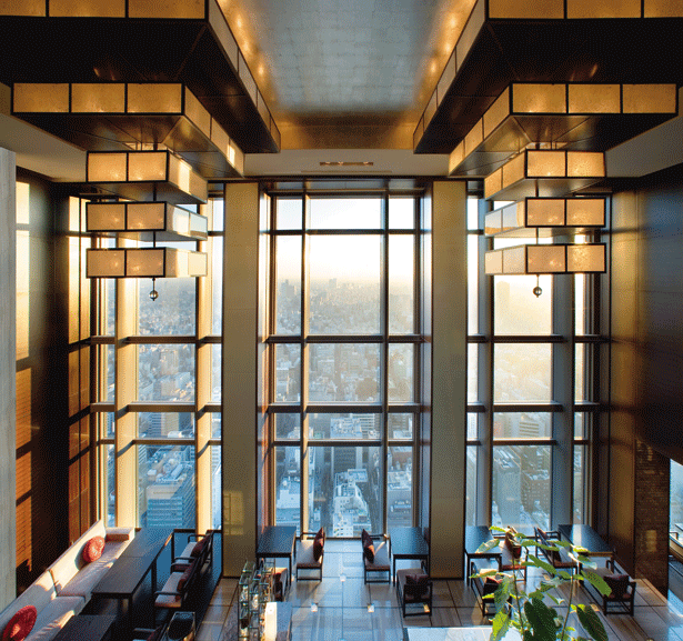 Five of the Best: Tokyo's Super-Luxury Hotels