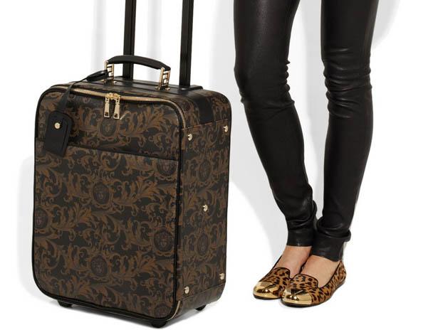 Versace Unveils New Luxury Suitcase