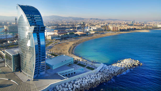 Hotel Review: W Barcelona
