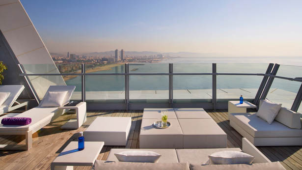 Rooms: W Hotels Barcelona Rooftop