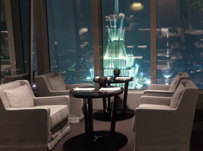 Sitting Above Shanghai; An Evening at the 100 Century Avenue Restaurant