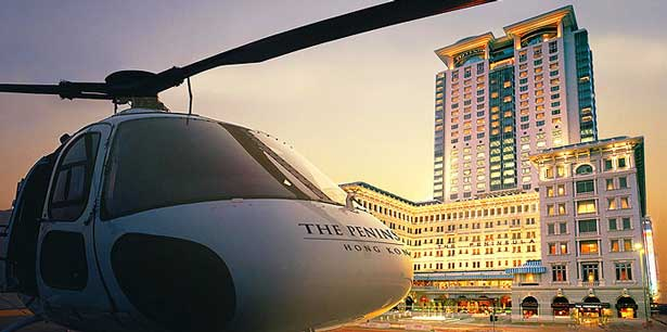 The Heights of Luxury; Eight Exclusive Helicopter Experiences