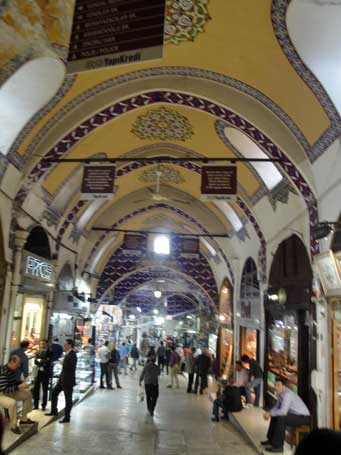 Pulled in All Directions at Istanbul's Grand Bazaar