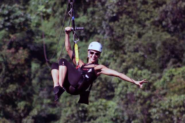 A Jamaican Ziplining Adventure