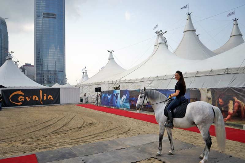 First Look: CAVALIA in Hong Kong