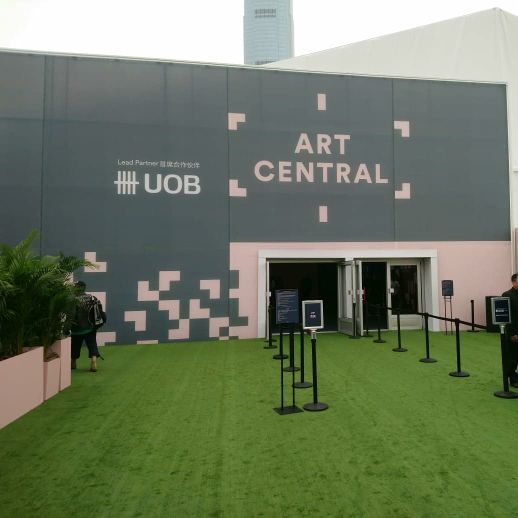 Art Central Opens in Hong Kong at Central Harbourfront